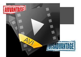 Advantage/Disadvantage of AVI