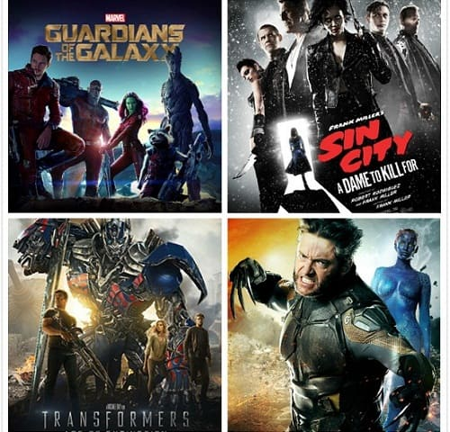 Full List of New Superhero Movies 2014 and Superhero Movies DVD Copy
