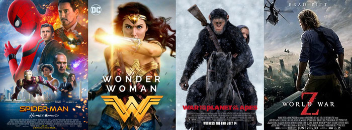 4K(HEVC) Full Movies List for Download in 2019
