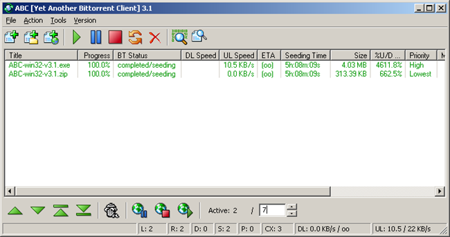 another program to download torrents