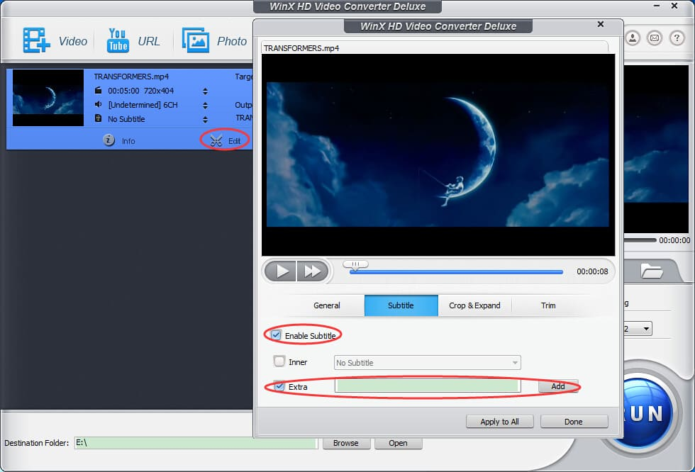 How to add subtitles to mp4 videos movies on pcmac add subtitles to mp4 ccuart Gallery