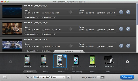 Top three DVD Rippers for Mac