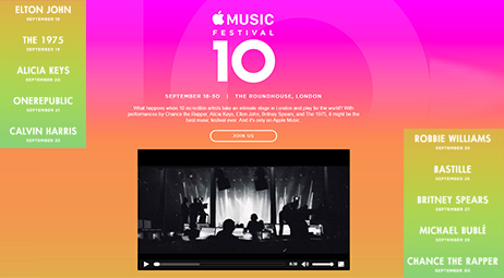 2016 Apple Music Festival Lineup, Ticket & Download Guide