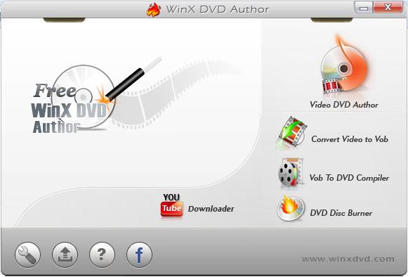 Free WinX DVD Author