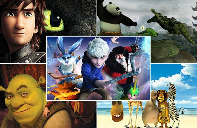 DreamWorks DVD Movie Animation