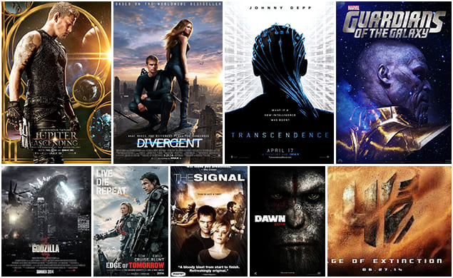 scientific hollywood movies list