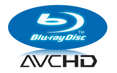 AVCHD and Bluray