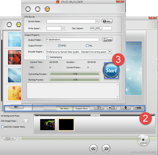 Problem - How do I autoloop an MP4 on a CD or DVD