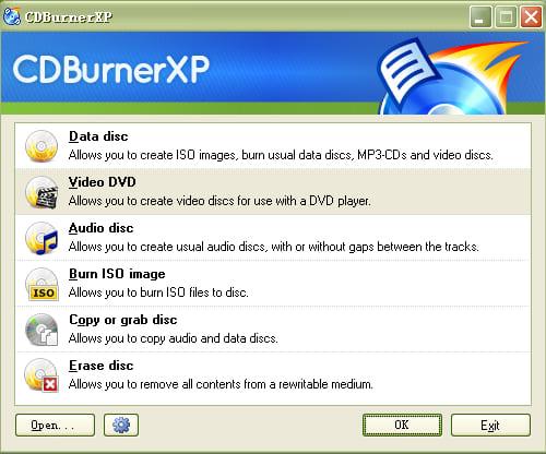 Ashampoo Burning Studio Free - Free CD & DVD Burning Software