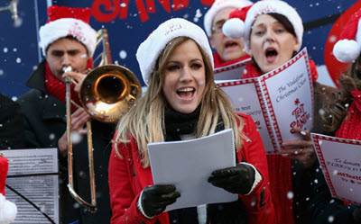 Listen sings the little match girl on new christmas music list.