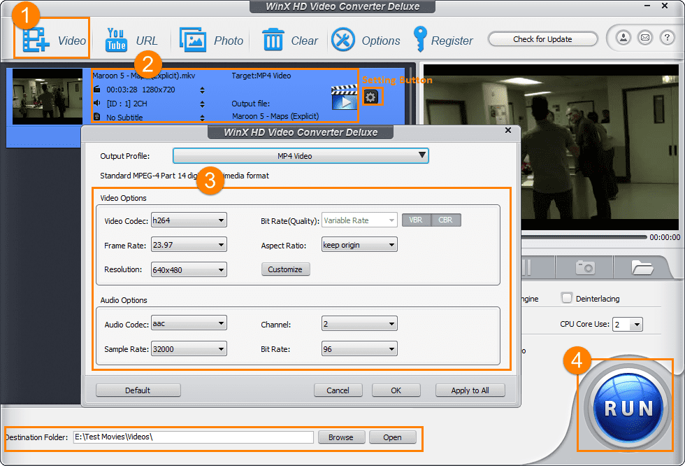 Compress MP4 Files for Emails