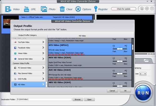 Convert MKV to AVCHD on Windows (10)