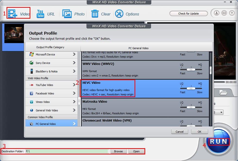 Online Video Converter - 将视频文件转换为MP4、AVI、MPEG、FLV、3GP、MKV