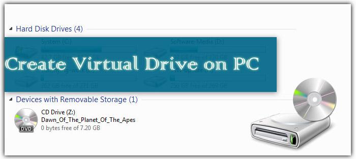 Create Virtual Drive