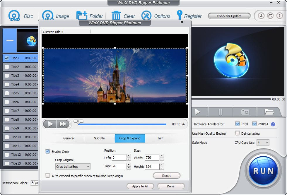 HandBrake Cropping Guide: How to Disable Automatic Cropping