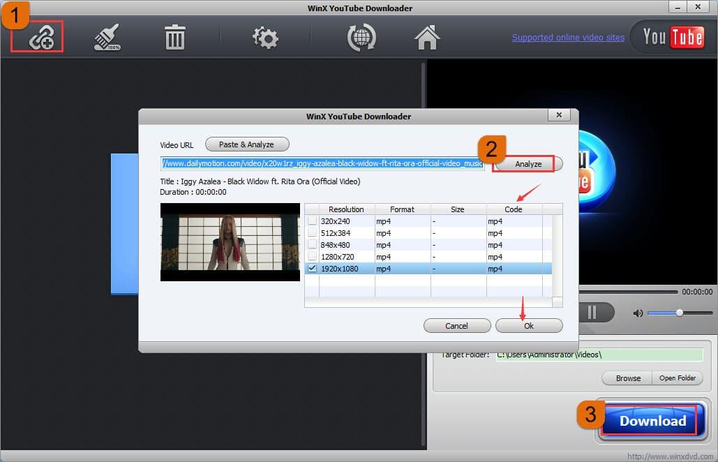 Free Dailymotion Video Downloader | File Converter Online ...