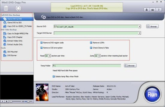 Best Free DVD Copy Software - WinX DVD Copy Pro Free Edition