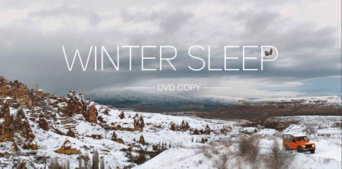 Copy Winter Sleep DVD