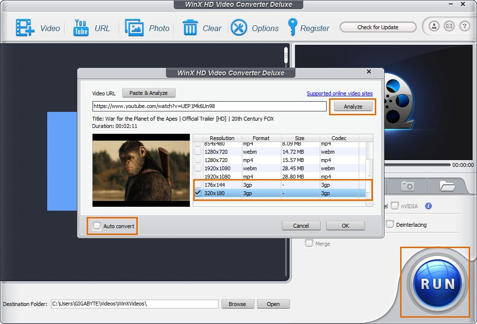 nvert2mp3net - Online Video converter - Youtube