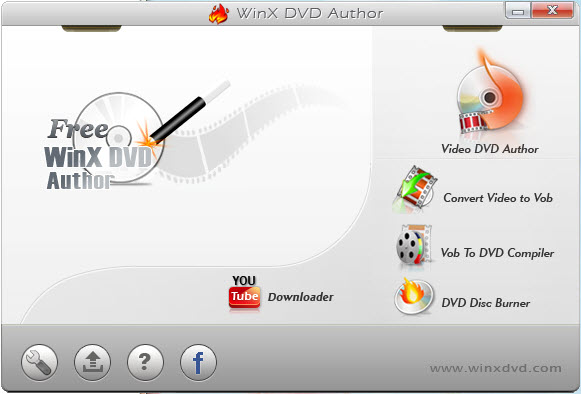 Step 1: Convert MP4 to DVD with WinX DVD Author