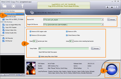 Copy DVD to DVD on Windows 10