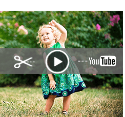 Edit/Compress Baby Video for YouTube
