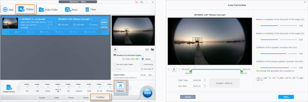 GoPro Fisheye Correction: How to Fast Remove Fisheye (Lens