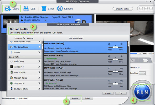 Tcharger FLV To MP4 (gratuit)