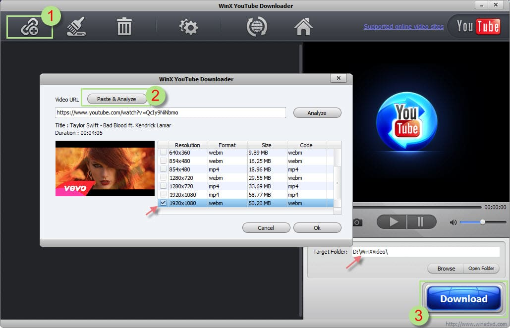 how to download youtube videos free in mp4 flv 3gp or webm
