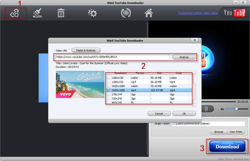 Movies videos downloader.