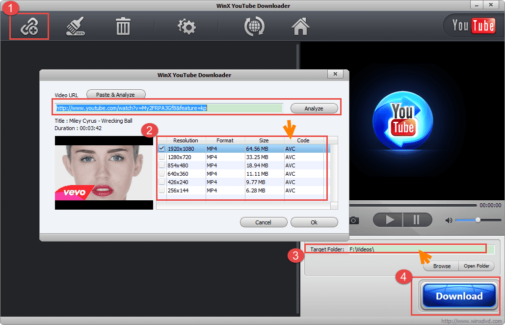 How to Free Get/Download Wrecking Ball Music Video by Miley
