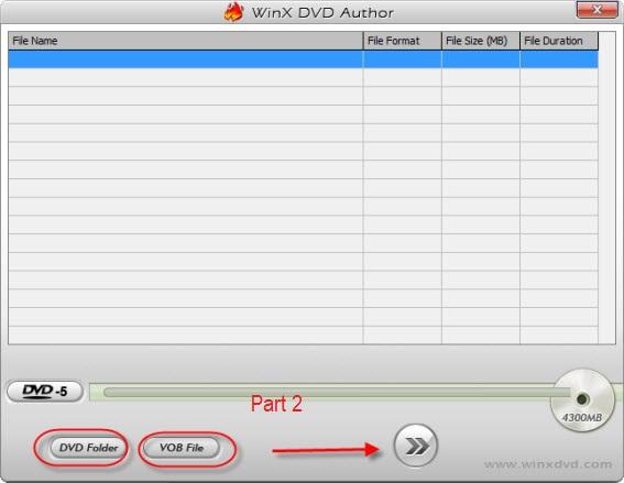 Free Burn VOB to DVD