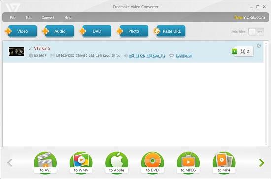 Top Free VOB to AVI Converter