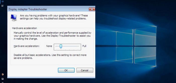 hardware acceleration windows 10