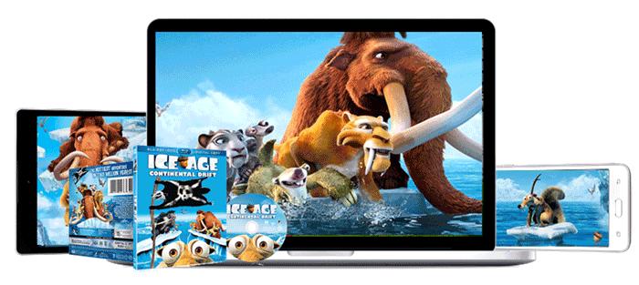 Decrypt Rip Ice Age: Continental Drift DVD