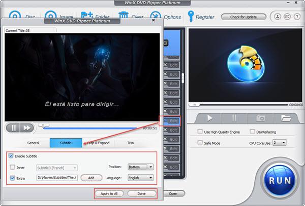 Add SRT Subtitles with a HandBrake Alternative
