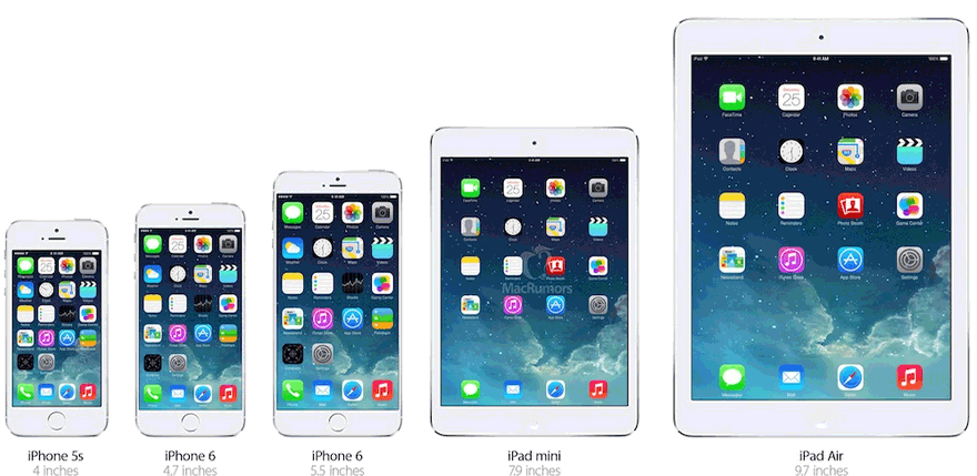 iphone 6 vs iphone 5 full specs comparison of color size