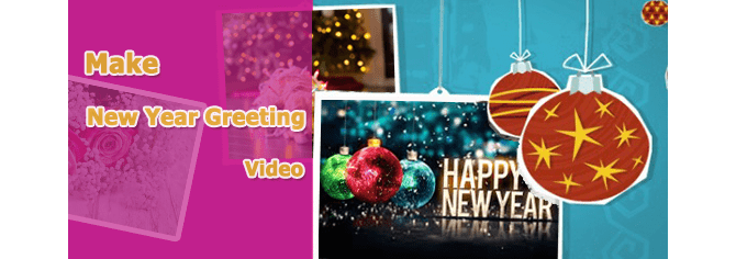 make free new year greeting video