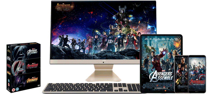 Decrypt and Rip The Avengers DVD
