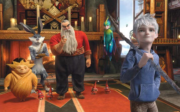 Clone DVD Rise of the Guardians