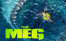 2018 Thanksgiving Movie DVD - The Meg