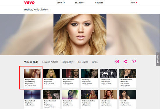 How to Free Download Vevo Music Videos of Sony and Universal