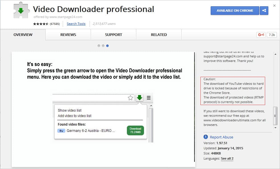 How To Add Freemake Video Downloader Extension In Chrome
