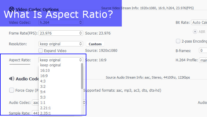 What Is Aspect Ratio