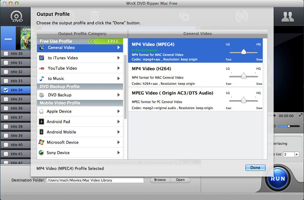 Crop DVD Clips - EaseFab DVD Ripper User Guide