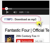 musica da youtube estensione firefox