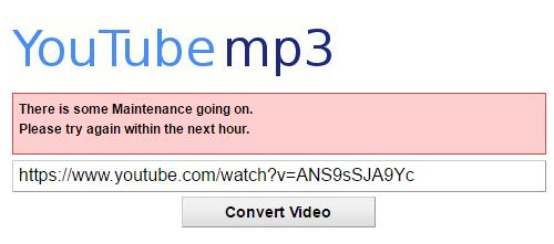 YouTube mp3 not Working? How to Fix YouTube mp3 Won't