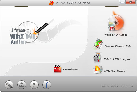 M2TS to DVD with WinX DVD Author Free