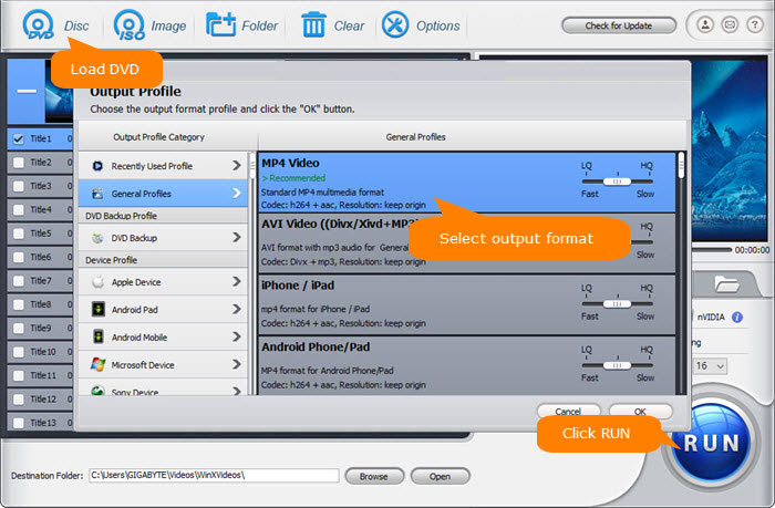 With How-to Guide] Best 3 DVD to MP4 Converter Freeware for
