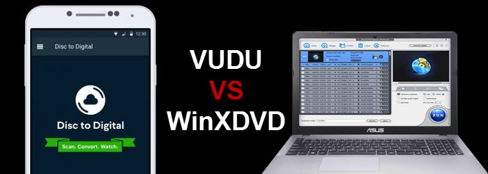 Disc to Digital: VUDU vs WinX DVD Ripper Platinum - 2019
